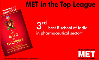 3rd best B School in Pharma Sector