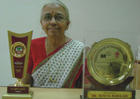 Dr. Sunita Mahajan MET's crowning glory