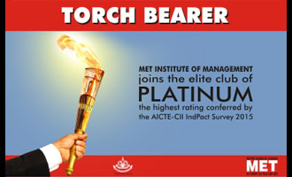 MET IOM – The Torch Bearer!
