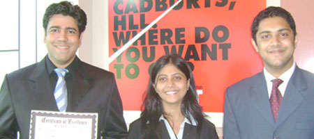 Winners of All-India Case Study Competition - Acumen 2006