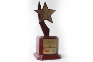 Environment Excellence Recognition Award for MRV