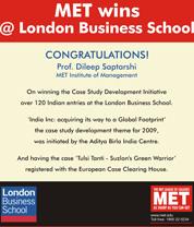 MET Wins @ London Business School