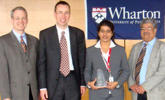 MET wins top honours at Wharton!