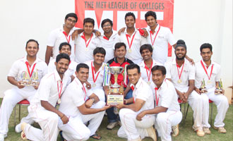 MET Wins Cricket Trophy