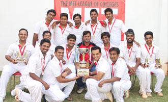 MET Wins Cricket Trophy