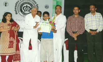 MRV student to represent Maharashtra at the National Tournament