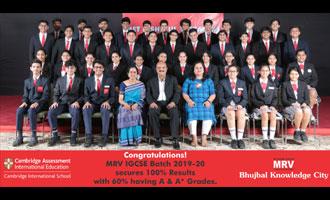 MRV Shines Ever Brighter at IGCSE Exams