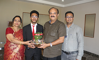 MRV Student: A World Topper!