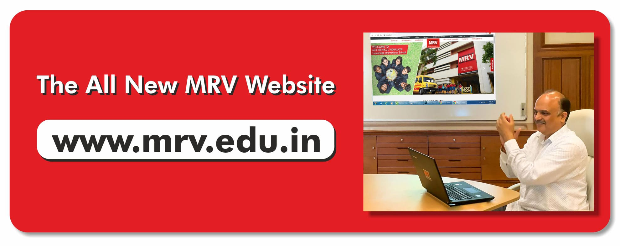 MRV Website inauguration