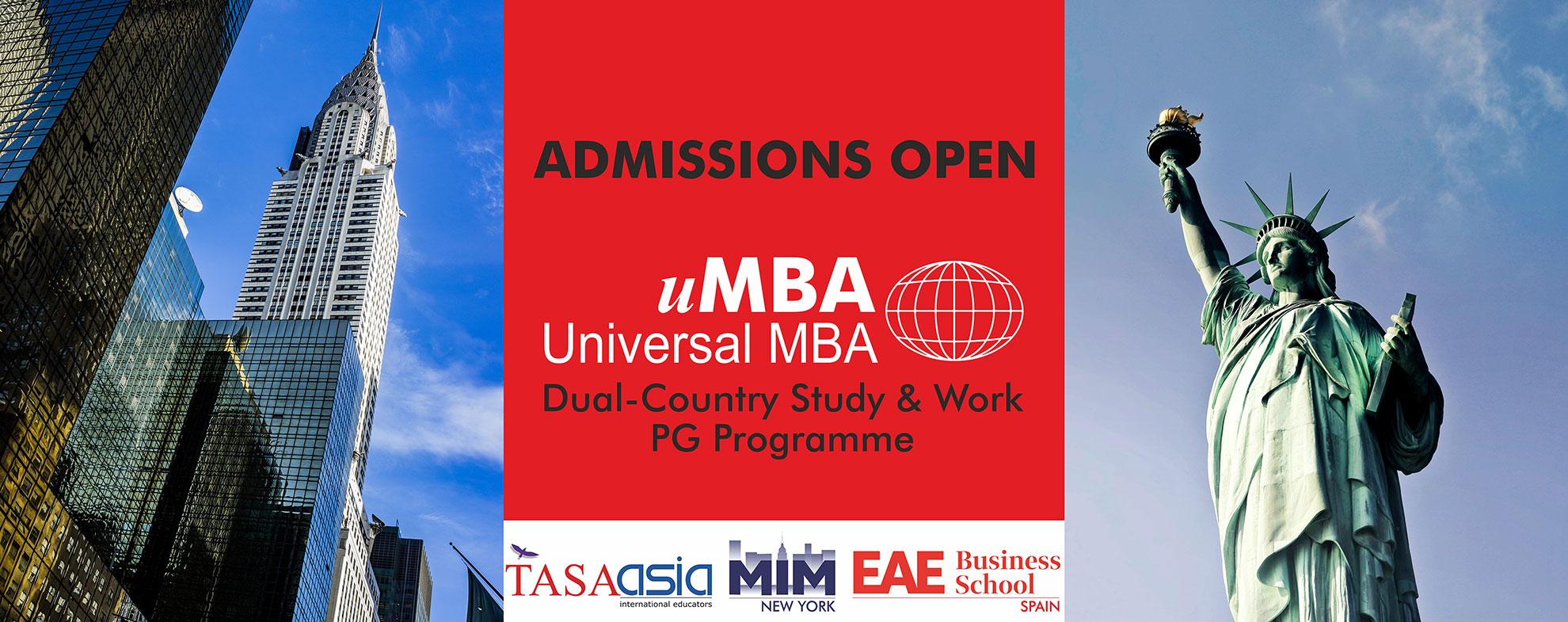 uMBA(Universal-MBA)