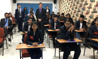 University of Queensland Australia interact with MRV AS level Students
