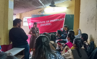 Awareness about Nutrition and Christmas celebration at the Happy school academy