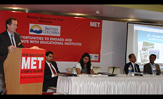 MET hosts British Columbia and AIMS Educational Conclave