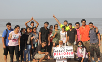 Clean Juhu Beach Drive by Responsible 18