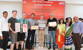 Canada to Mumbai - Creative & Media Lessons by VFS