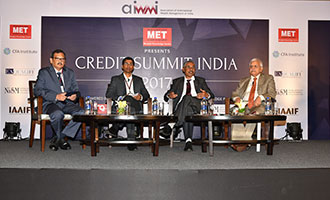 MET presented the Credit Summit India 2017