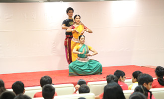 Exposure to Odissi at MRV