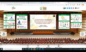 Faculty Participation at the 4th Global Ayurveda Festival (GAF 2021) Virtual Conference and Expo