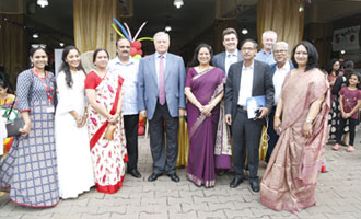 Foreign Delegates at MRV Green Mela