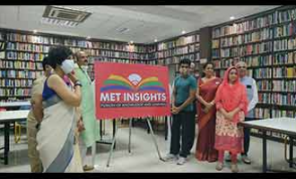 The launch of first ever innovative learning initiative MET INSIGHTS