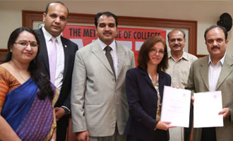 MET, Mumbai and ACCA, UK sign the MOU for a Joint Alliance