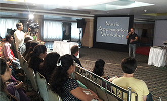 MRV hosts Music Appreciation Workshop