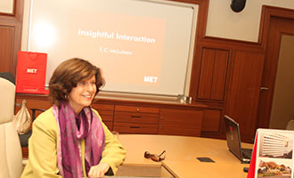 MET's insightful interaction with an international filmmaker