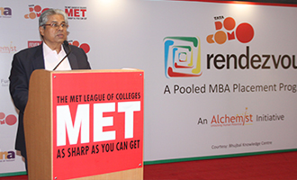 MET hosts Rendezvous of Corporates with MBAs