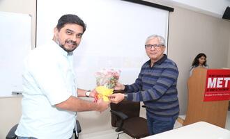 Bureau Chief of Aaj Tak at MET