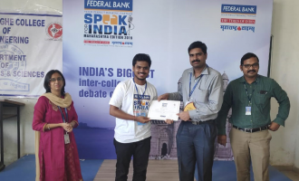 Speak for India 2019