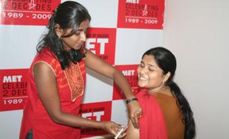 MET Vaccination Drive