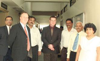 London School of Pharmacy visits MET