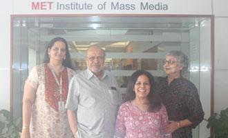 Shyam Benegal at MET