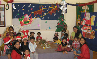 Overnight X'mas celebrations with 3 years old! 275 MET Rishikul Vidyalaya tiny tots had a sleepover party to celebrate Christmas all night long with Santa Claus!