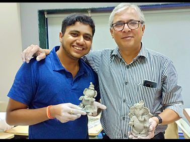 Clay Ganpati Making Workshop