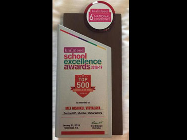 MRV Shines at the Brainfeed School Excellence Awards 2018-19
