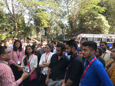 MMS students Industrial Visit to Silvasa