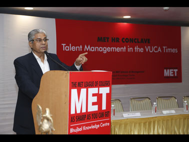 MET HR Conclave: Talent Management in VUCA times
