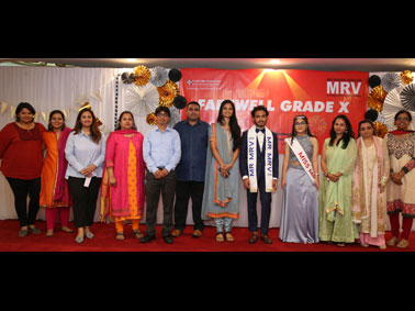 Adieu MRV Grade 10 Batch of 2018-19