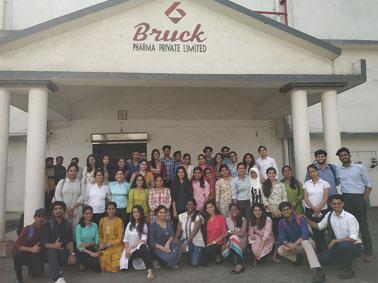 Indutrial Visit to Brucke Pharma