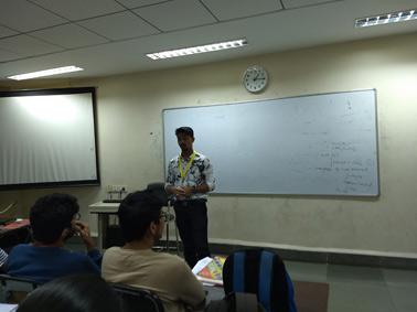Alumni speaks…Mr Vivek Bandagale