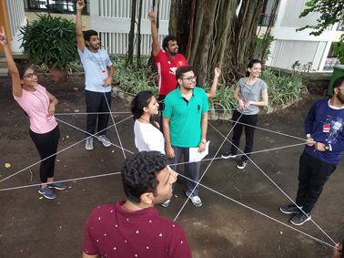 PGDM (eBusiness) outbound management trip to Uttan