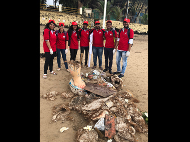 Beach Clean Up Drive