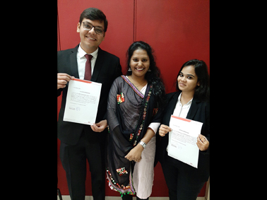 Research Paper publication of MMS students