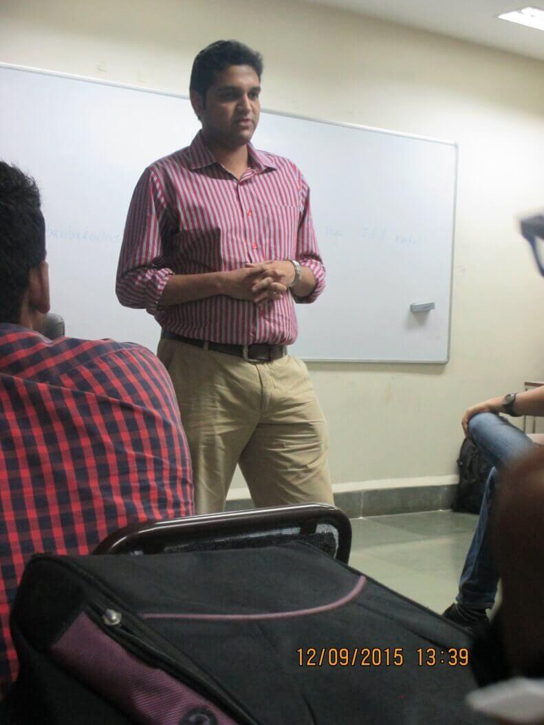 Mr. Mohit Patwardhan